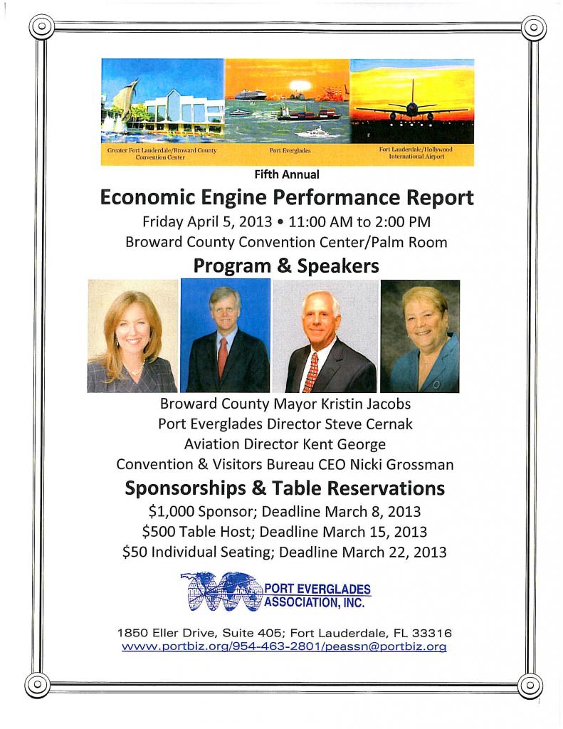 Economic Engine Performance Report