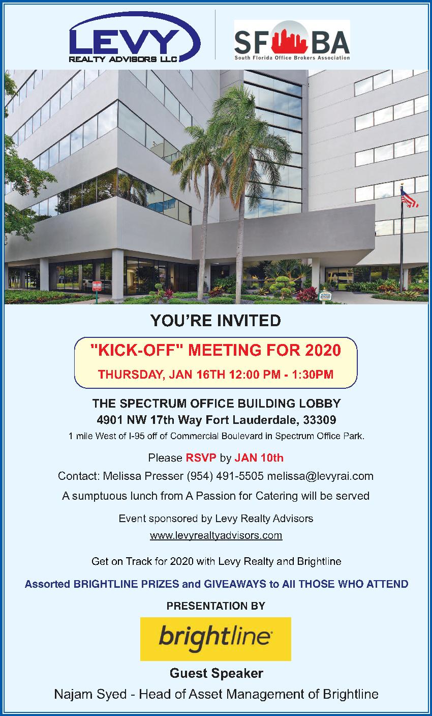 January 2020 SFOBA Meeting