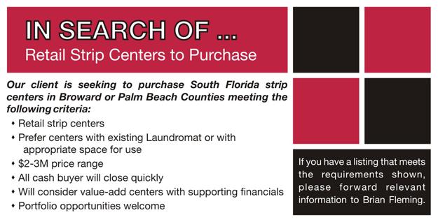 Seeking Retail Strip Centers 11 5 13