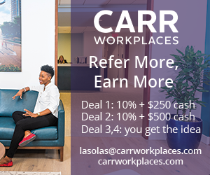 Carr Workplaces-Refer More Earn More