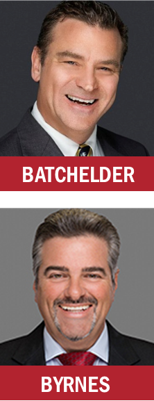 Berger Commercial Realty's Brian Batchelder and Joe Byrnes